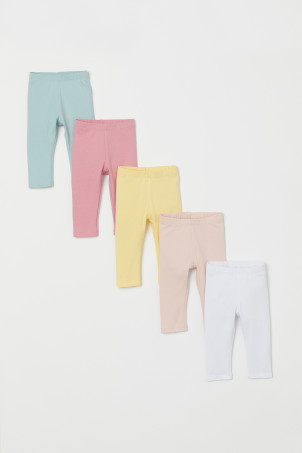5-pack Jersey Leggings