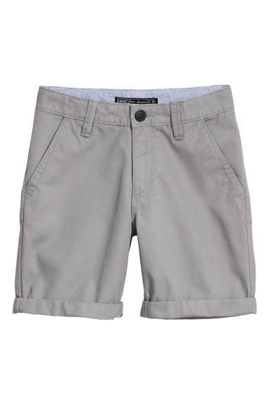 Chino shorts - Grey -  | H&M