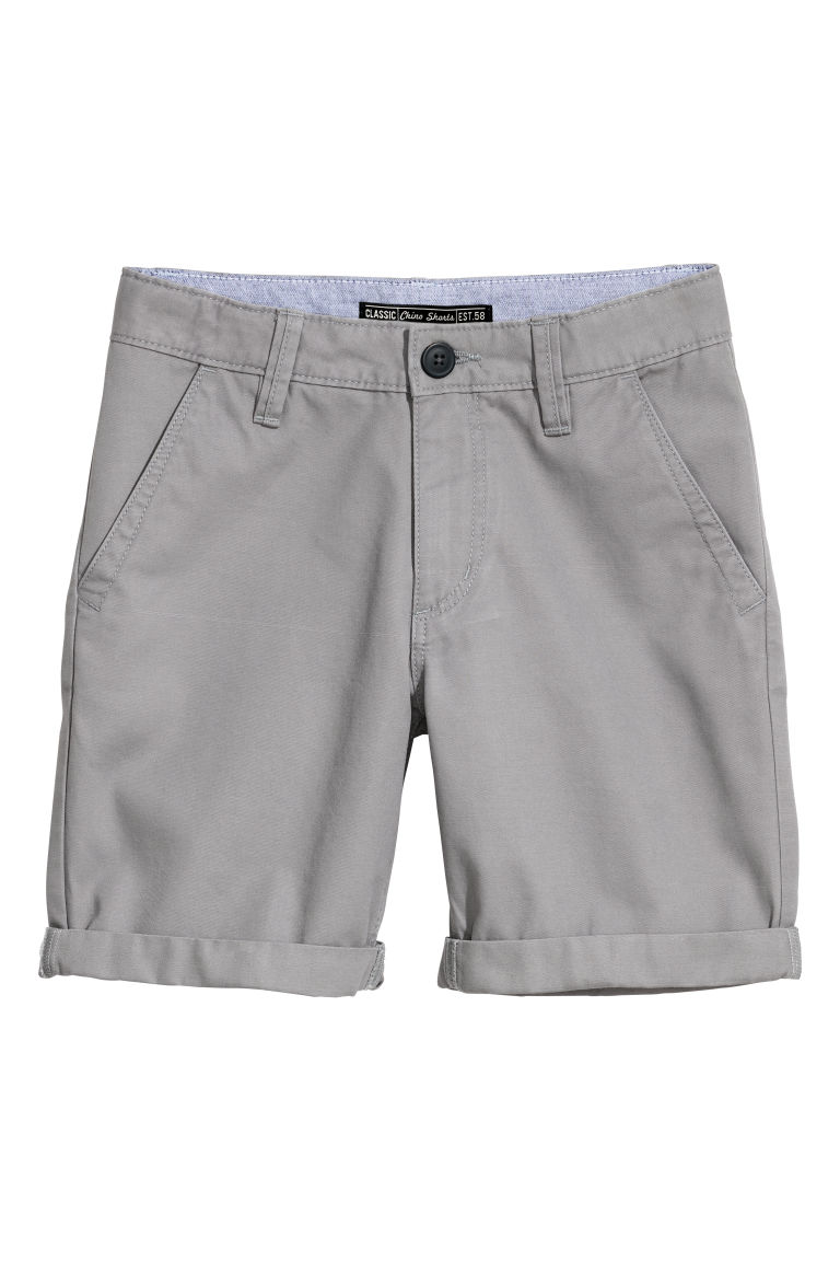 Chino shorts - Grey - Kids | H&M
