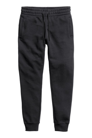 Sweatpants - Black - Men | H&M CN
