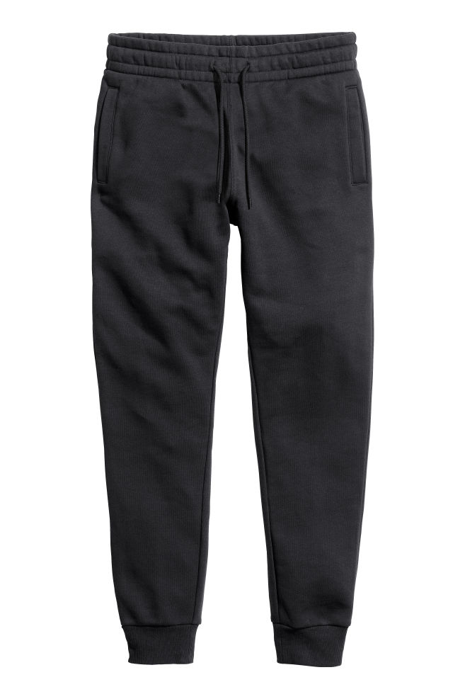 0f3e354e7b215 Sweatpants - Black - Men | H&M ...