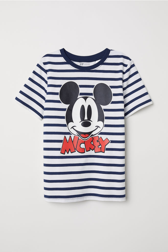 fcedd26e6 Printed T-shirt - White/Mickey Mouse - Kids | H&M 1