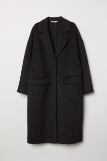 Knee-length Coat