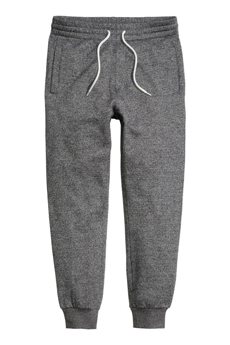Sweatpants - Dark grey marl - Men | H&M