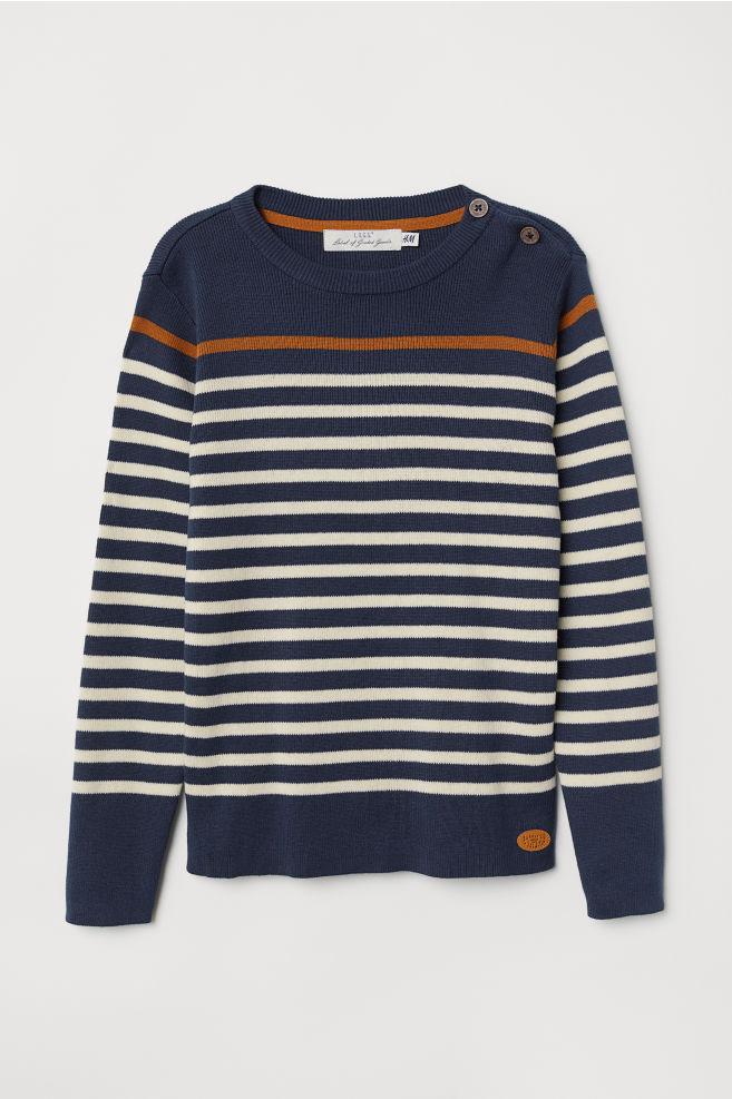 99c240c2376 Fine-knit cotton jumper