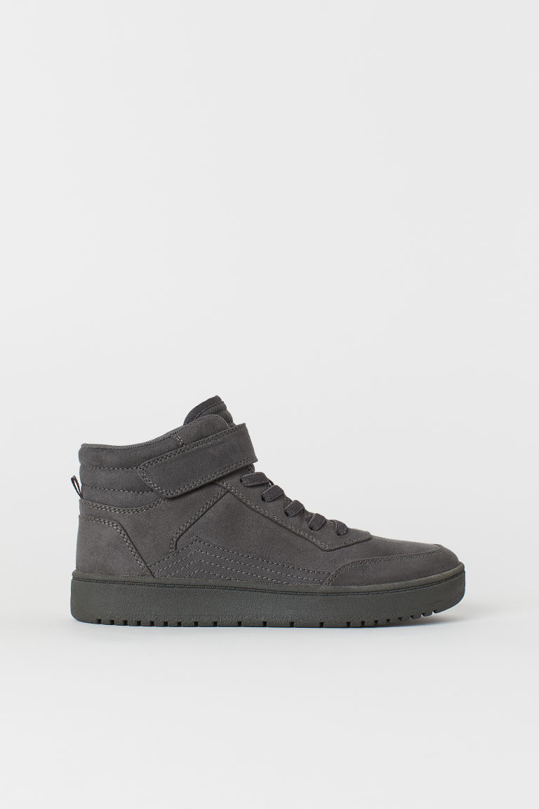 Sneakers alte - Dark grey - BAMBINO | H&M IT