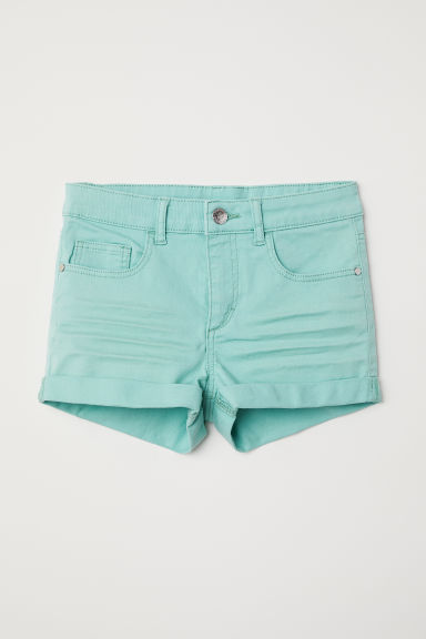 Twill shorts - Light turquoise - Kids | H&M