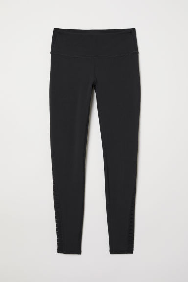 Yoga tights Shaping Waist - Black - Ladies | H&M CN