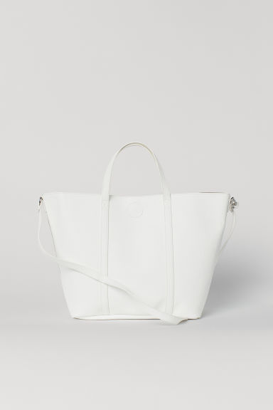 Shopper con tracolla - Bianco -  | H&M IT