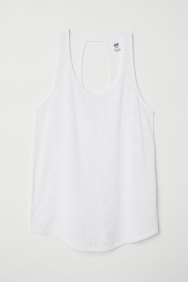 Sporttopje - Wit - DAMES | H&M BE