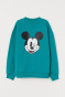 Turquoise/Mickey Mouse