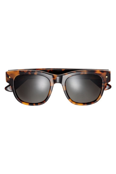 Sunglasses - Tortoiseshell-patterned - Ladies | H&M CN