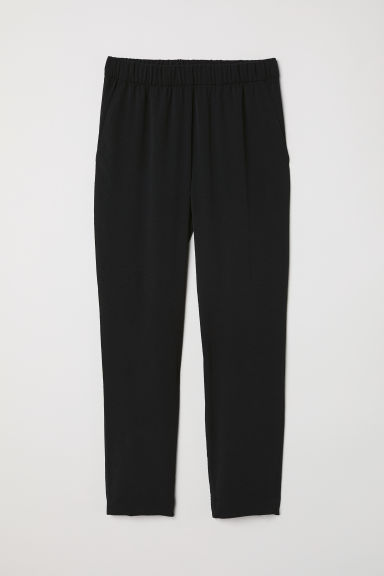 Crêpe-Hose - Schwarz - Ladies | H&M AT