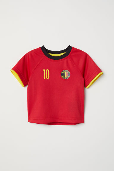 Football shirt - Red/Belgium - Kids | H&M