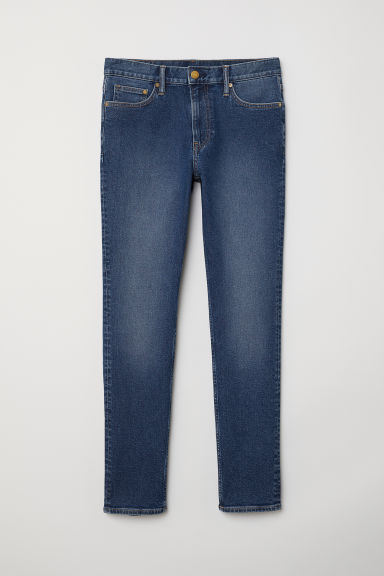 Slim Jeans - Denim blue - Men | H&M CA