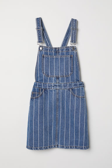 famous brand high quality separation shoes Denim dungaree dress