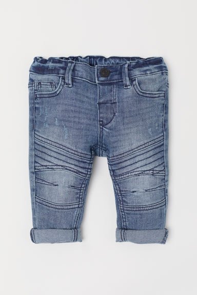 Skinny Fit Jeans - Denimblauw - KINDEREN | H&M BE