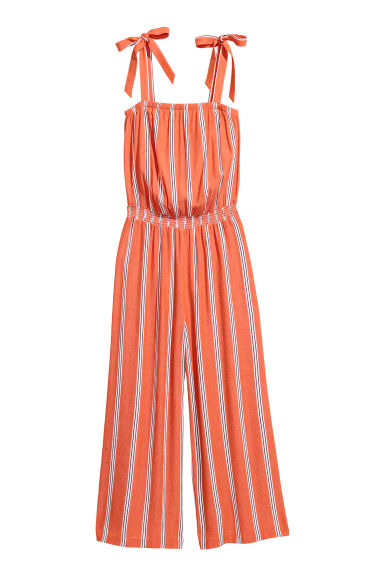 Jumpsuit - Orange - Ladies | H&M