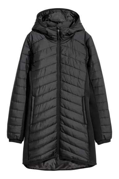 Padded outdoor jacket - Black - Ladies | H&M GB