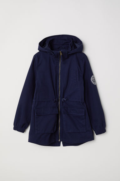 Parka in twill di cotone - Blu scuro -  | H&M IT