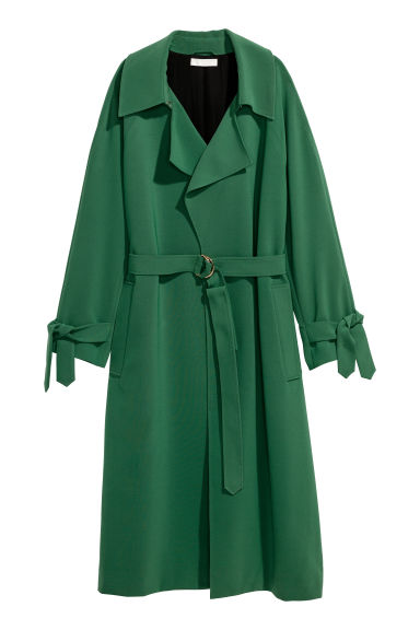 Coat - Green - Ladies | H&M CN
