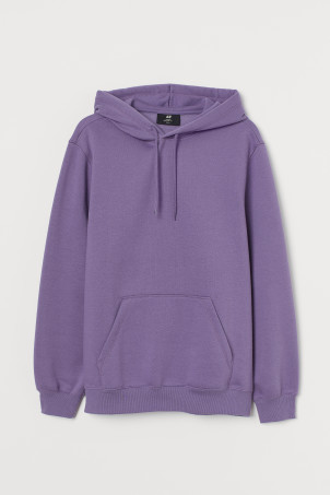 Relaxed-fit HoodieModel