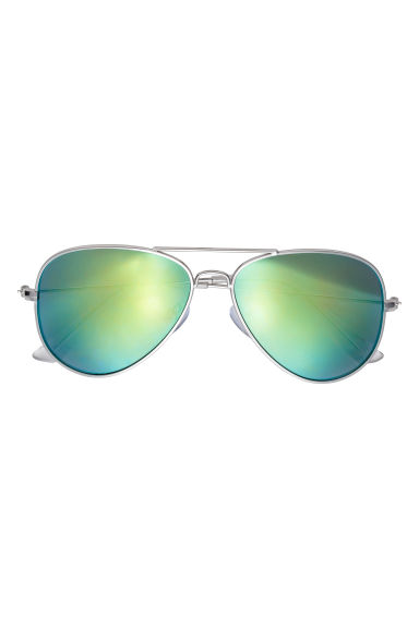 Occhiali da sole - Argentato/verde -  | H&M IT