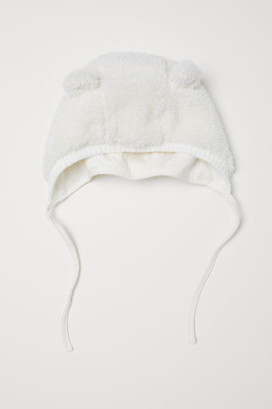 Pile hat - Natural white - Kids | H&M CN
