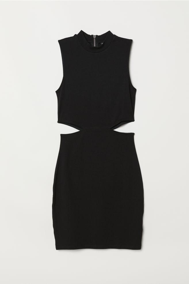 50ca01bd331846 Jersey Dress - Black - | H&M ...