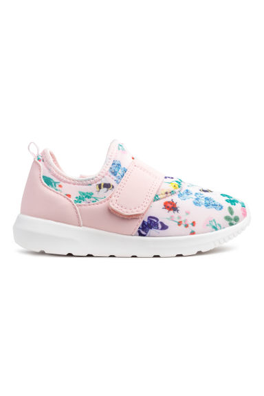 Scuba trainers - Light pink/Floral -  | H&M