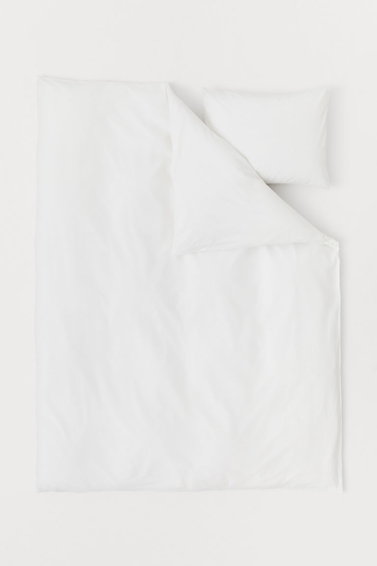 Set de funda de duvet - Blanco -  | H&M MX