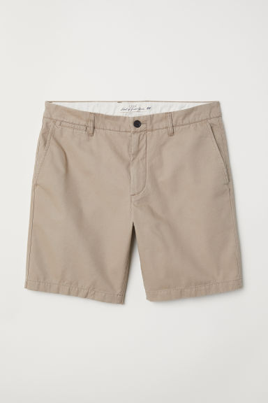 Chino shorts - Beige - Men | H&M CN
