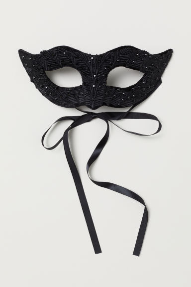Fancy dress mask - Black - Ladies | H&M