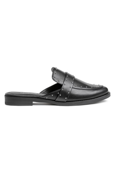 Slip-in loafers - Zwart - DAMES | H&M BE