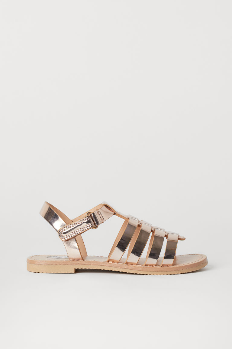 Sandals - Rose gold-coloured/Unicorn - Kids | H&M