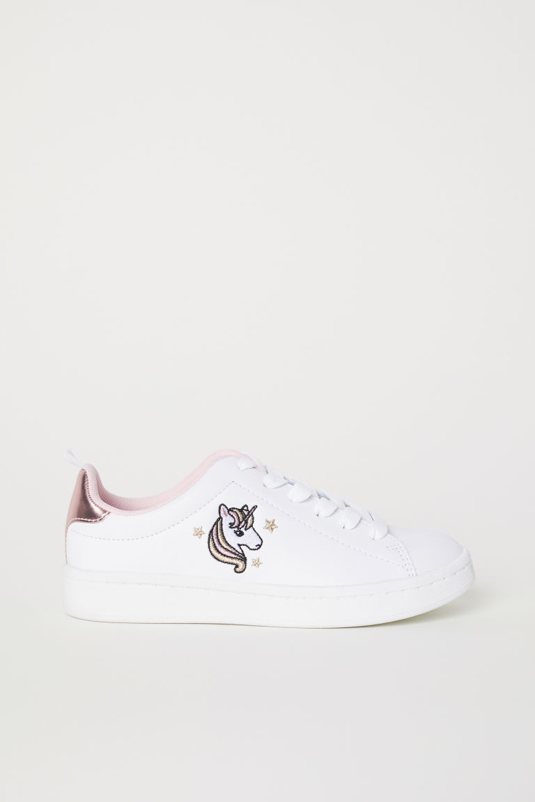 Trainers - White/Unicorn - Kids | H&M