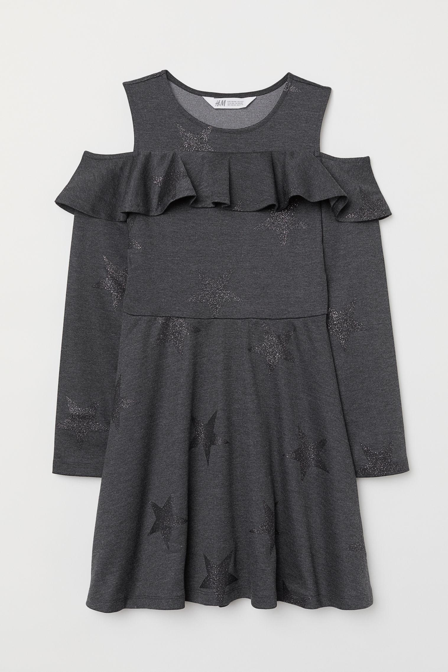 699c5ca5ff91 Robe épaules dénudées - Rose poudré - ENFANT