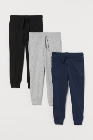3er-Pack Jogginghosen