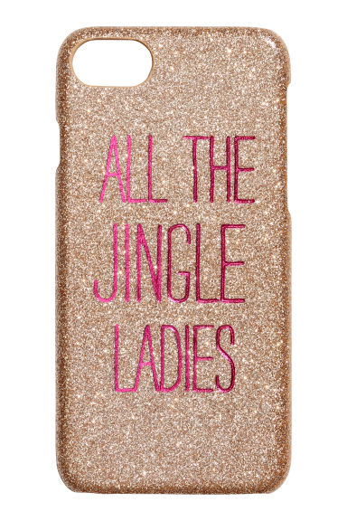 iPhone 6/8 case - Gold-coloured/Pink - Ladies | H&M