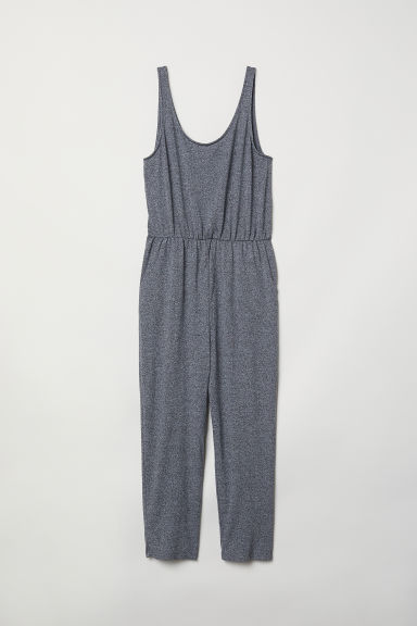 Sleeveless Jumpsuit - Dark grey marl -  | H&M CA