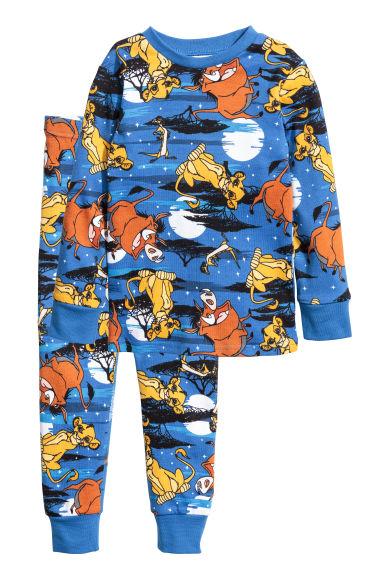 Jersey Pajamas Blue Lion King Kids H Amp M Ca