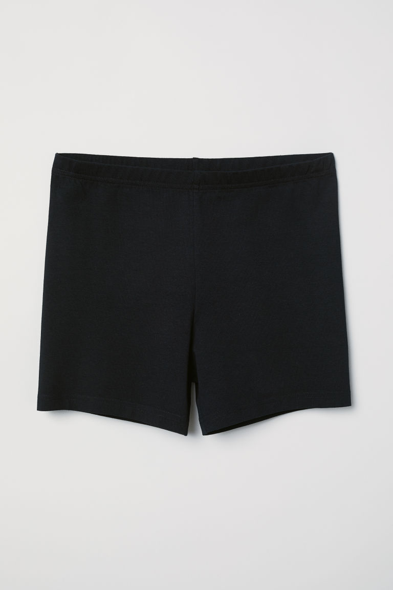 Jersey cycling shorts - Black - Ladies | H&M CN