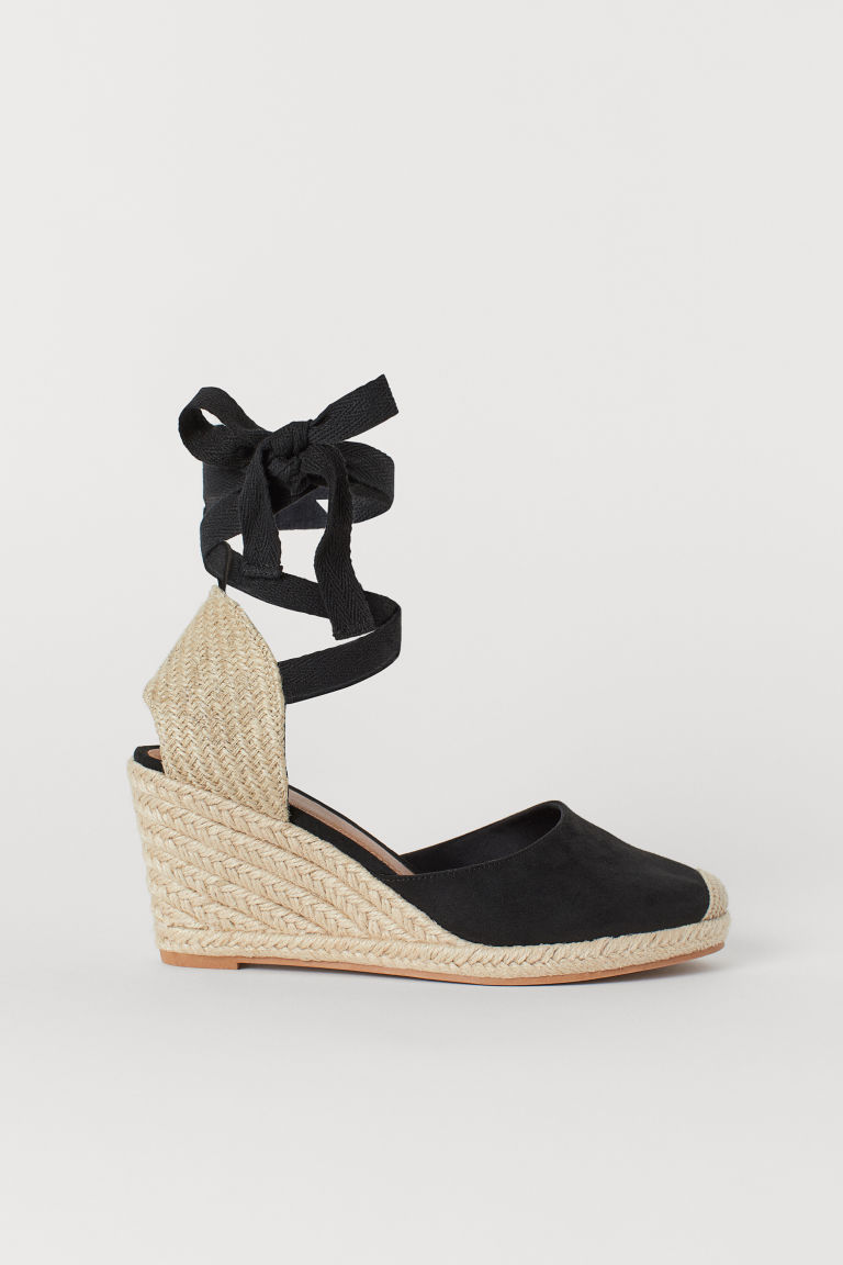 Sandals - Black/natural - Ladies | H&M US