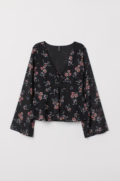 H&M - V-neck blouse - 5
