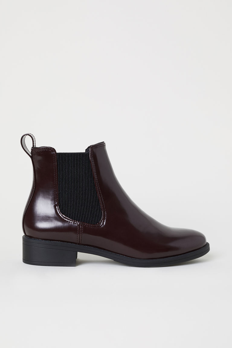 Chelsea Boots - Burgundy - Ladies | H&M CA