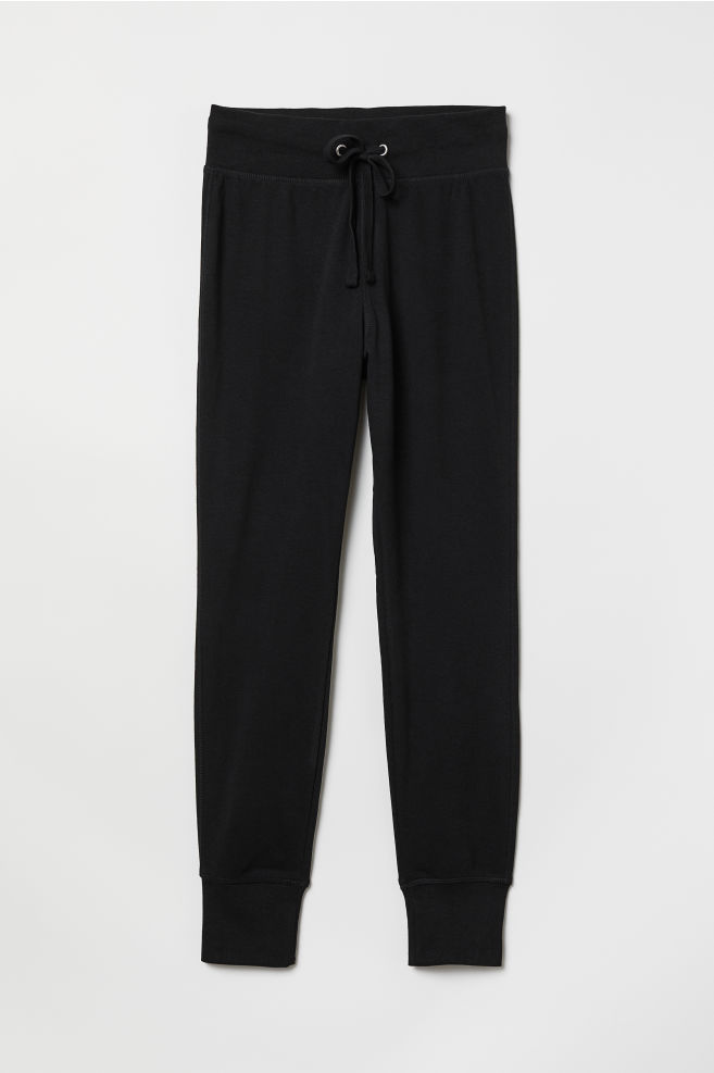 954b2d59d84 Joggers - Black - Ladies | H&M ...