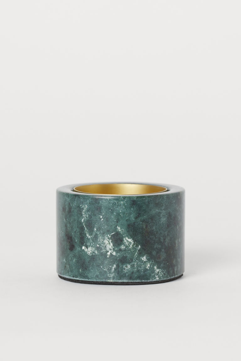 Marble Tealight Holder by H&M