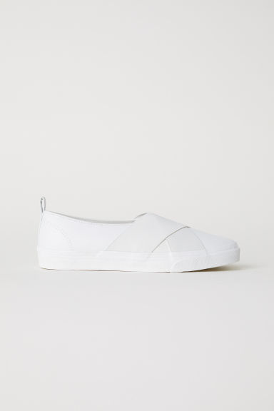 Slip-on sneakers - Wit - DAMES | H&M BE