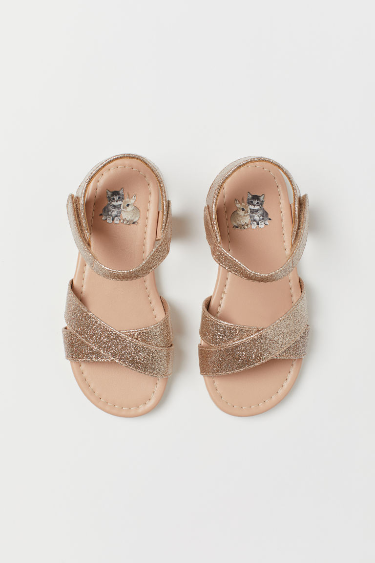 Sandals - Gold-coloured - Kids | H&M