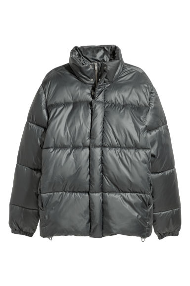 Padded jacket - Grey - Men | H&M CN